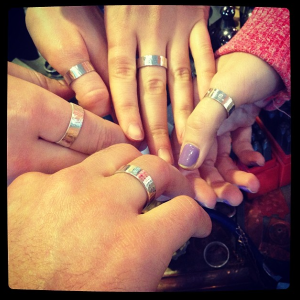 Birthday party ring band workshop!