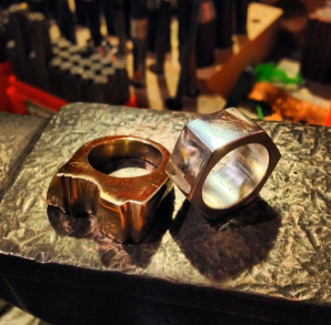 lost wax cast rings