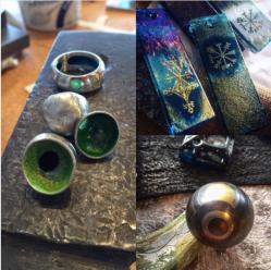 metal + glass